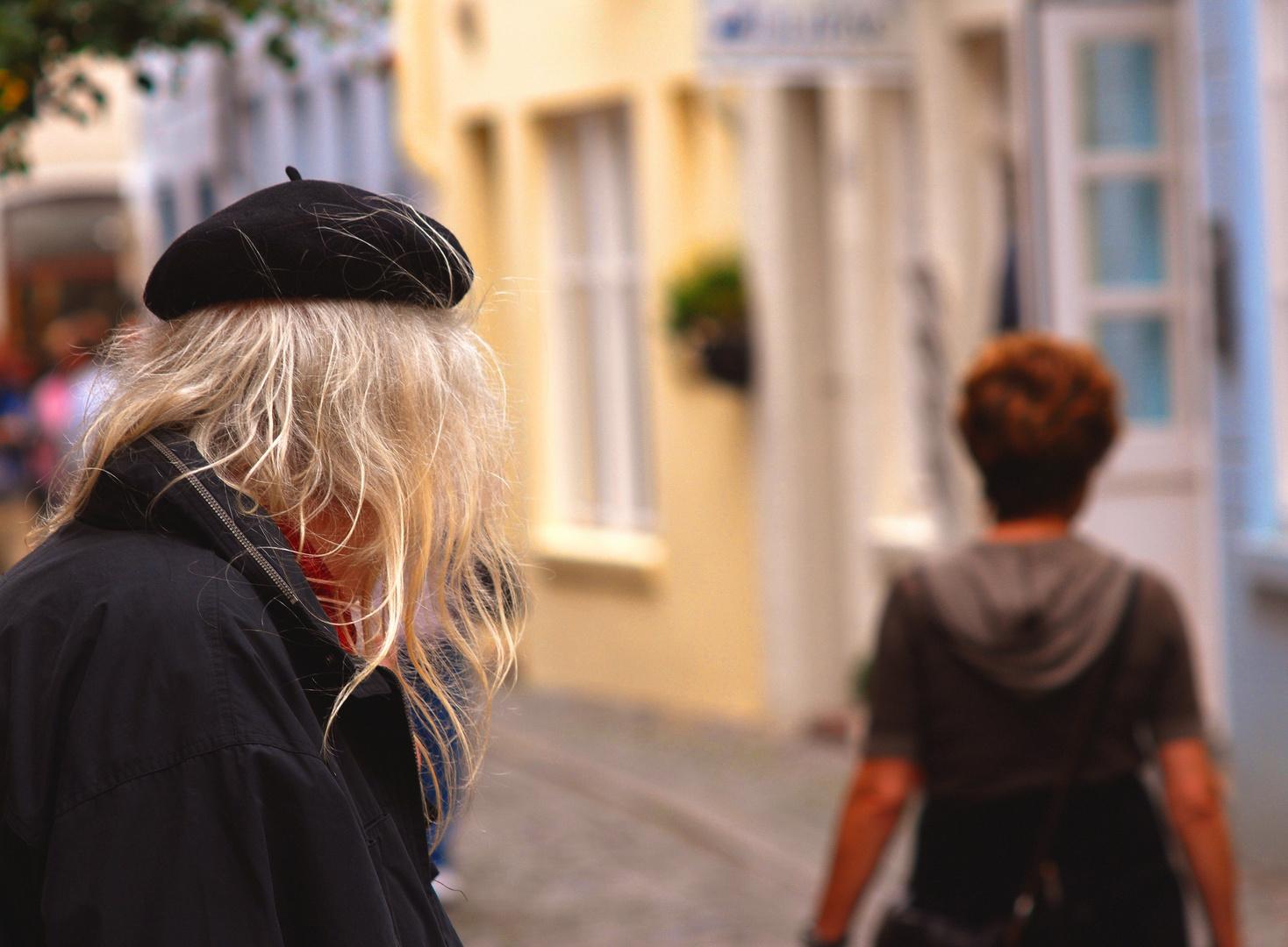 Street aus dem Bremer Schnorrviertel, bewusst nicht SW