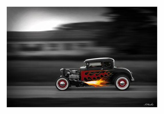 Street flames