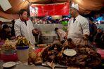 street food a Jamaa El Fna