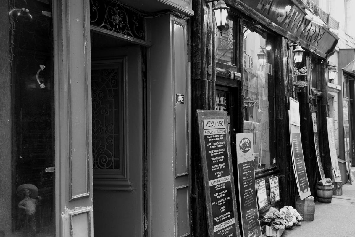 ... Street in Paris ...