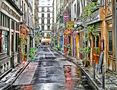 Street in Paris by Fons van Swaal