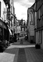 street in St Aignan - France