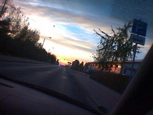 Street in the Sun