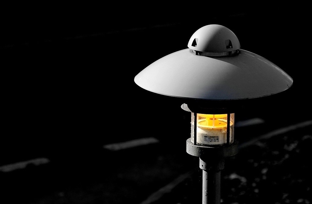 street lamp..
