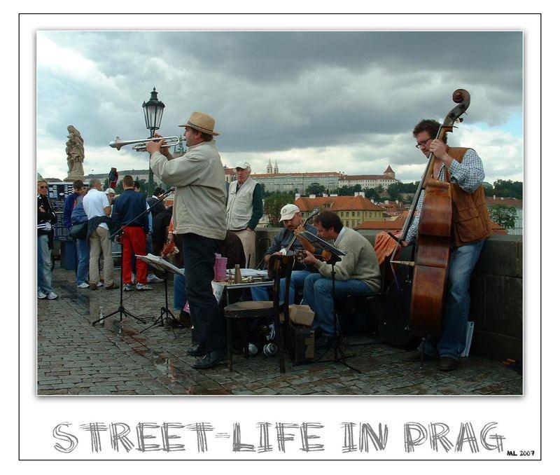 Street-Life in Prag