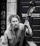 Street musician - Galway