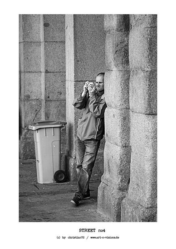 STREET no4 - der Fotograf