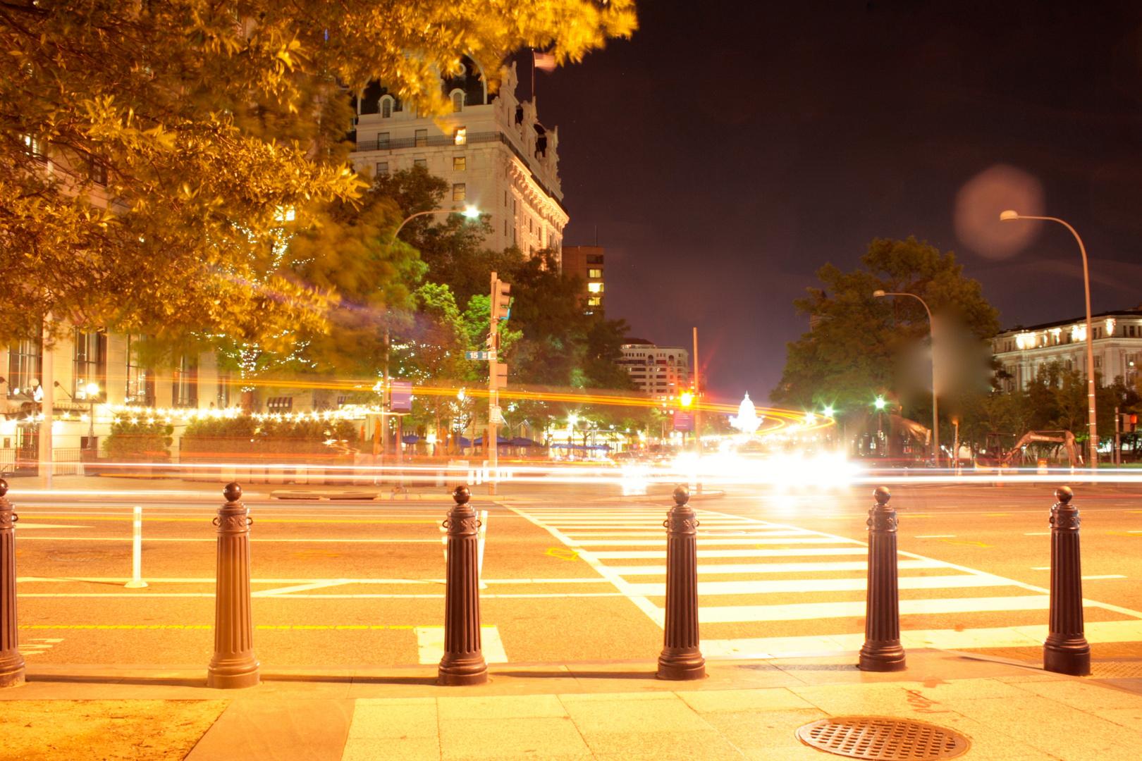 Street of Washington D.C