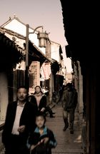 Street Scene in Lizhi