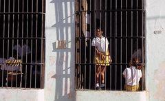 Street Schule Schülerinnen Cuba C-24