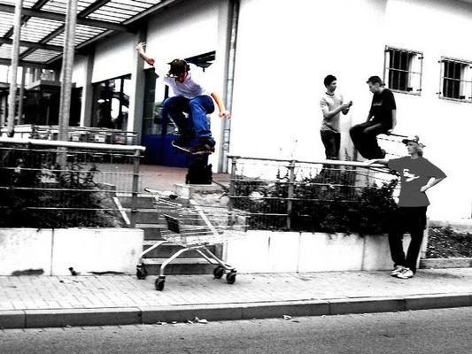 Street skaten