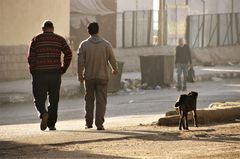 street Spaziergang sunrise egypt E-40