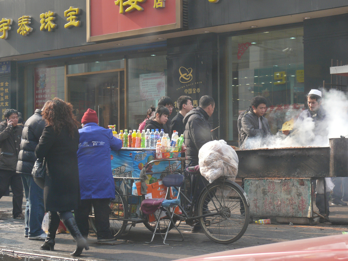 street view of changchun on a sunday