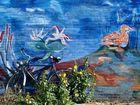Streetart auf Texel
