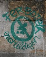 street.art ferboten enchüldigon