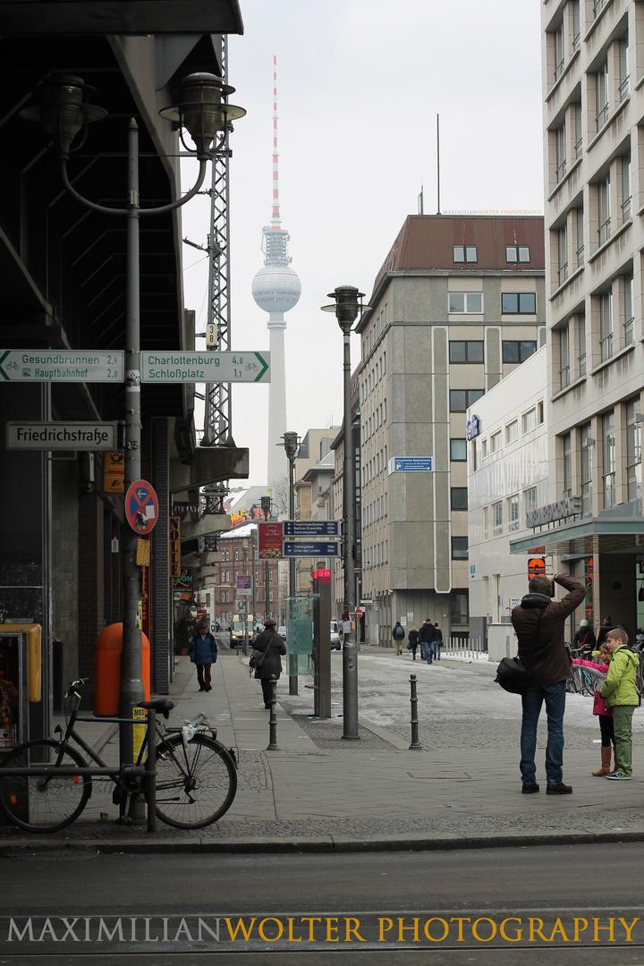Streetart Fernsehturm