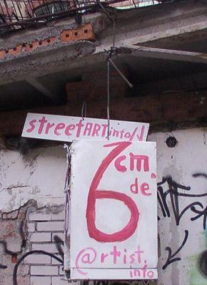 "Streetart ""Fridge Mobilee"""