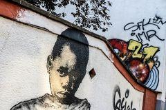 streetart Gemälde Wand Koeln