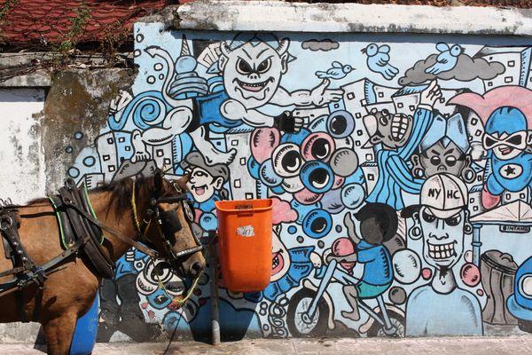 Streetart in Yogyakarta