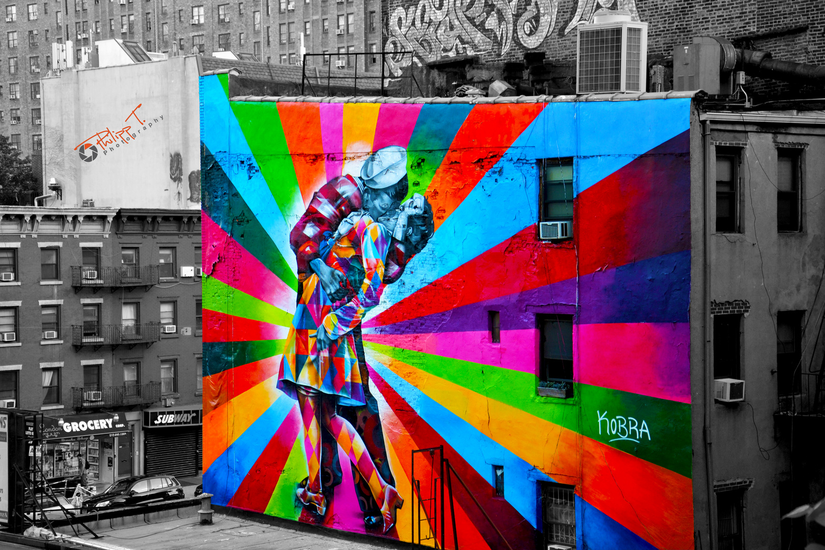 Streetart New York by Kobra
