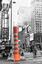 Streetart Time Square New York