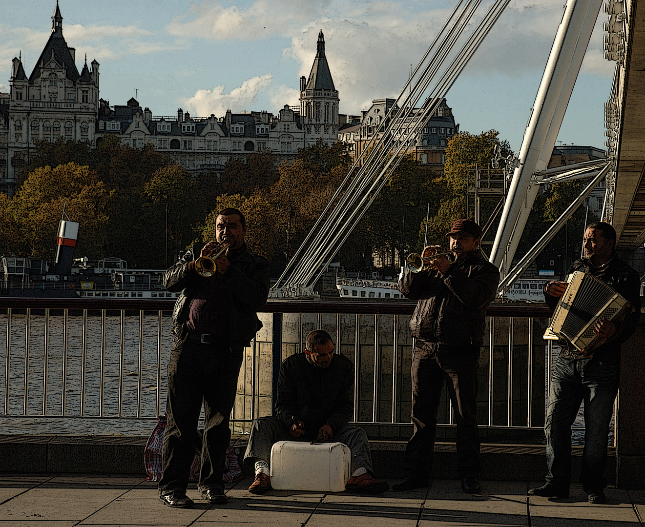 Streetband in London