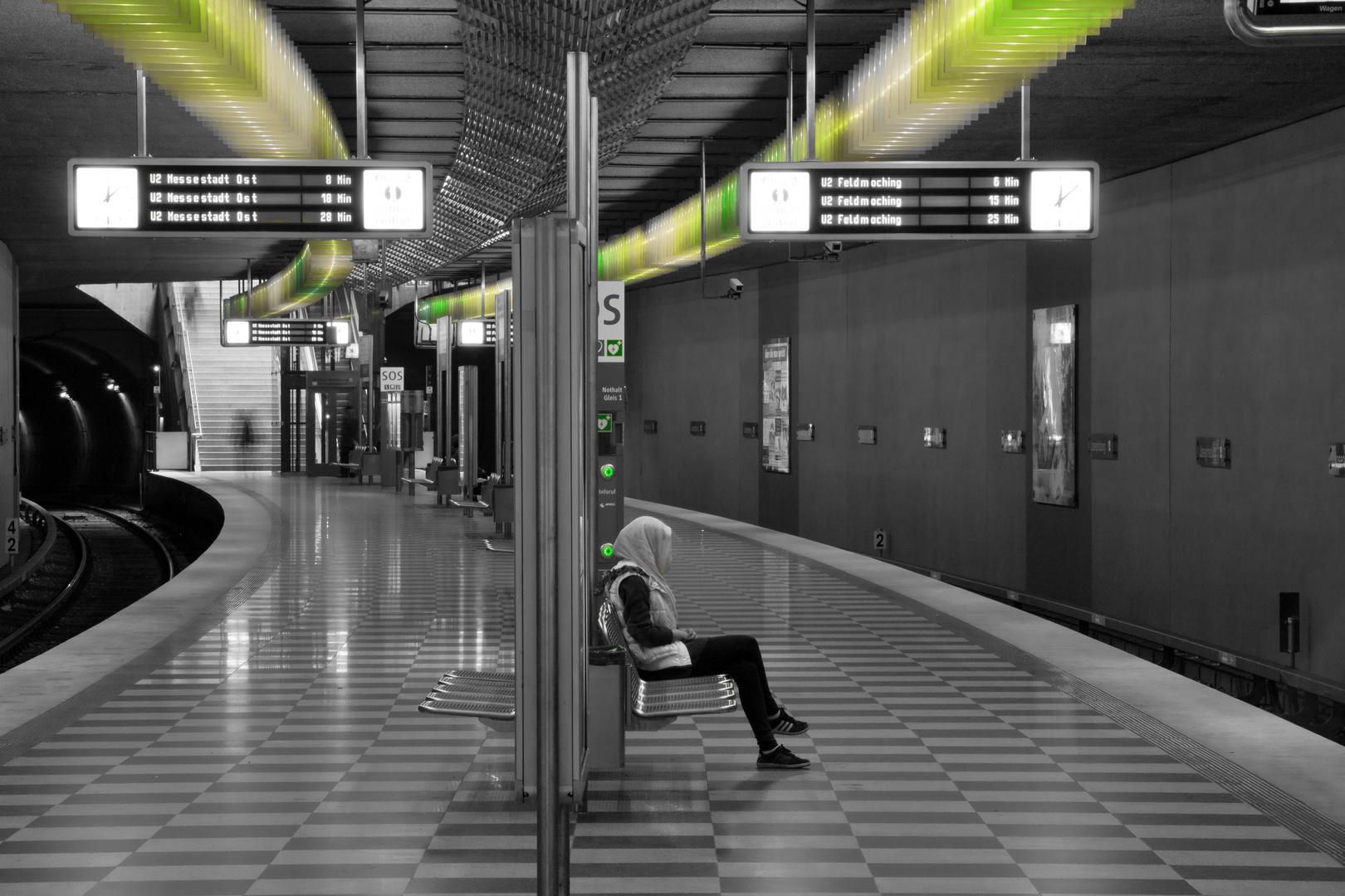 Streetfotografie am Gleis ;-)