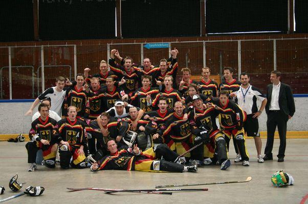 Streethockey Team Deutschland 2007