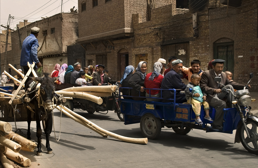 Streetlife in Kaschgar