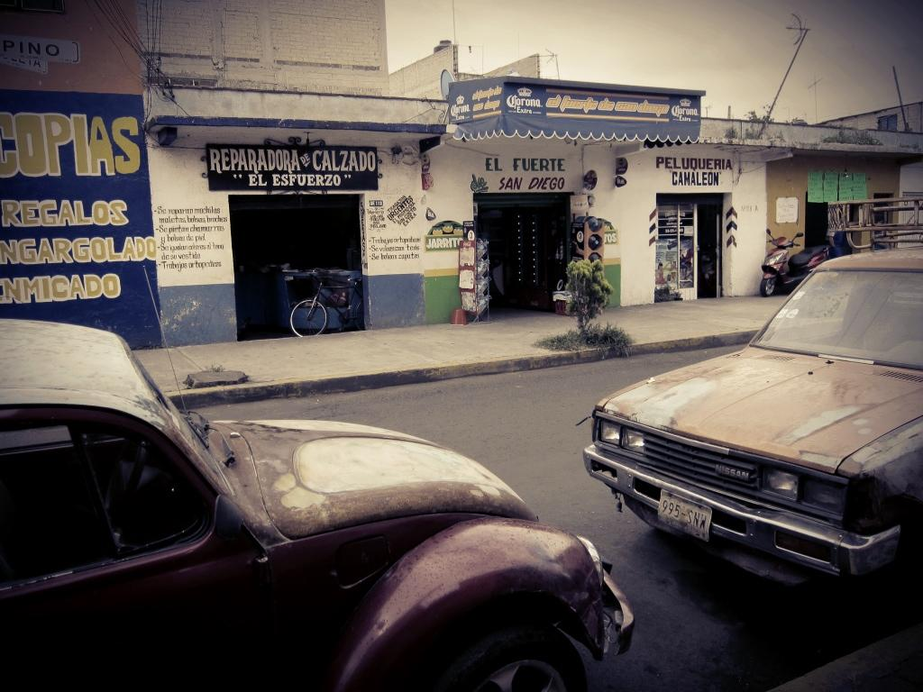 Streetlife in Mexico City
