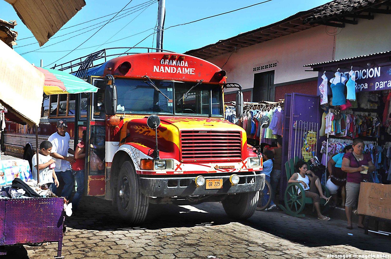 streetlife of nicaragua