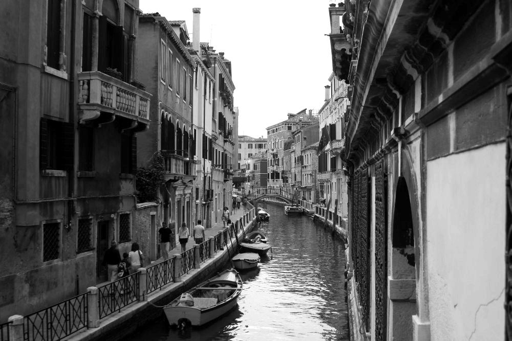 - Streets in Venice -