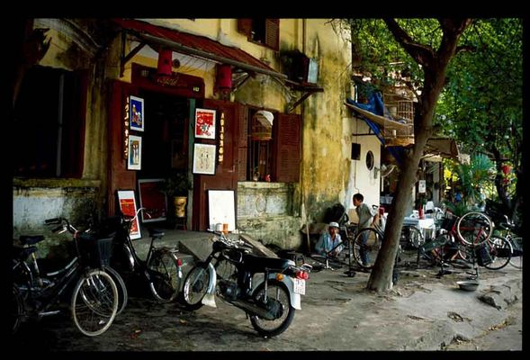 Streets of Hoian