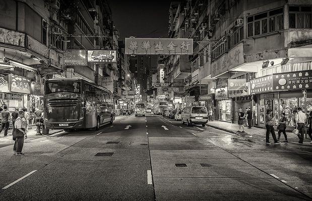 Street`s of Hongkong