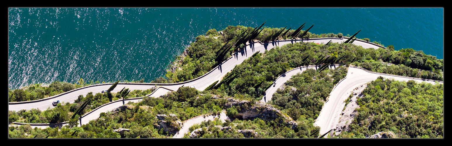 Streetview am Gardasee