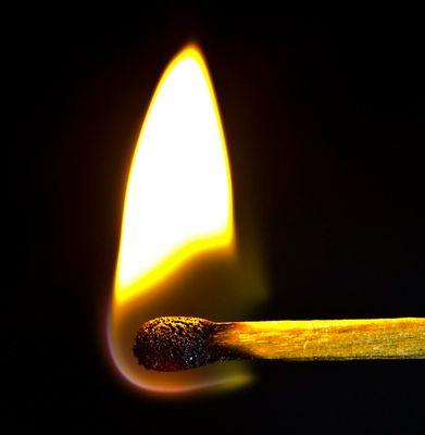Streichholz - Feuer