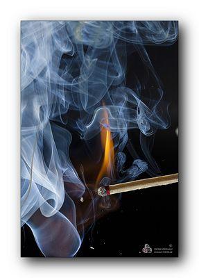 Streichholz ...  oder mal was mit Feuer!