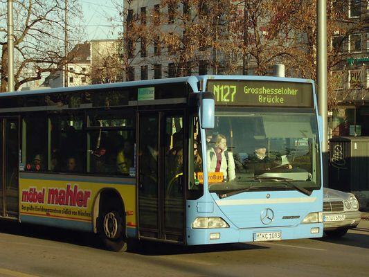 Streik-Ersatzbus