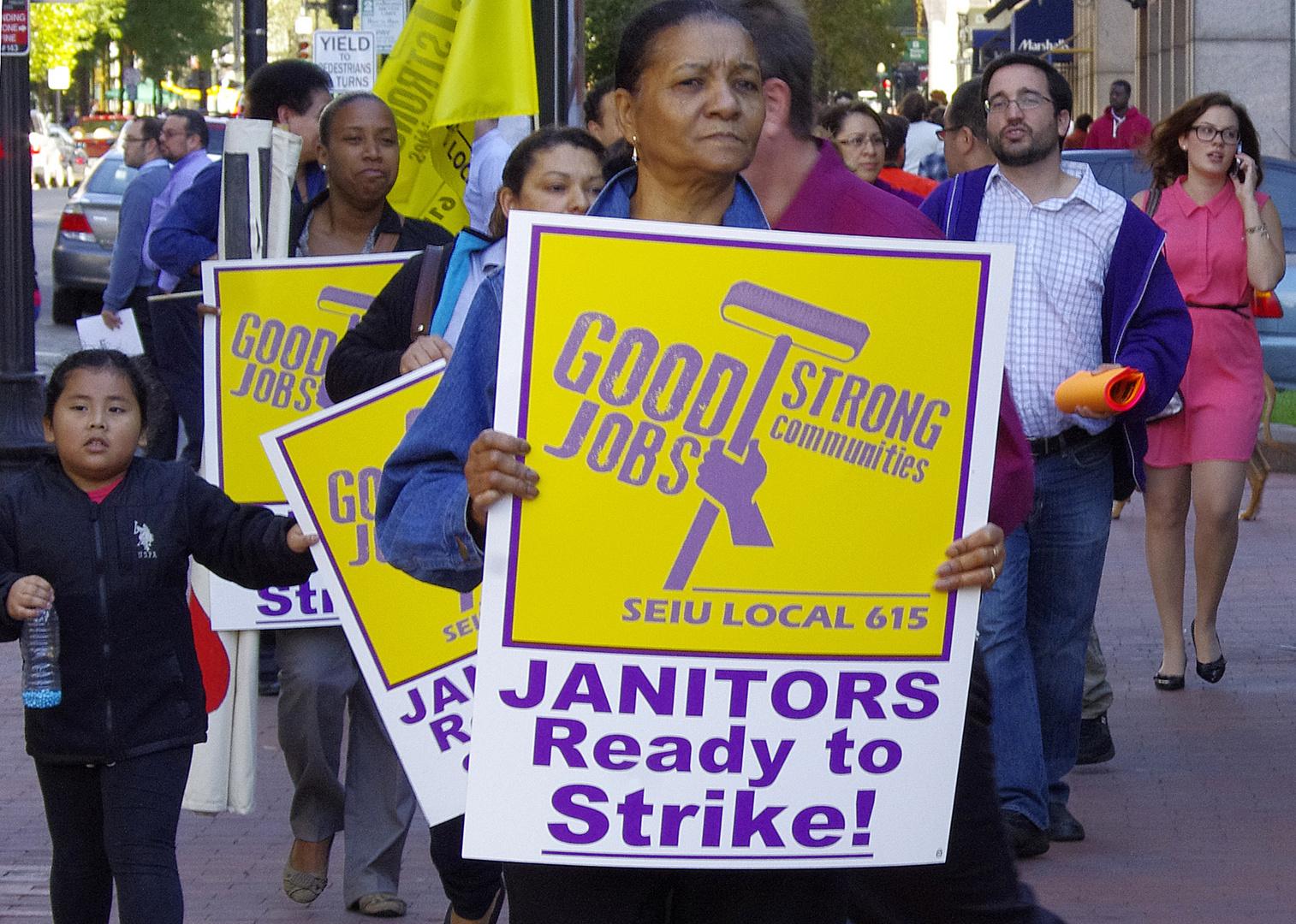 Streik in Boston-USA?