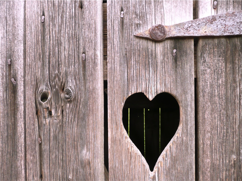 Strichweise Herz