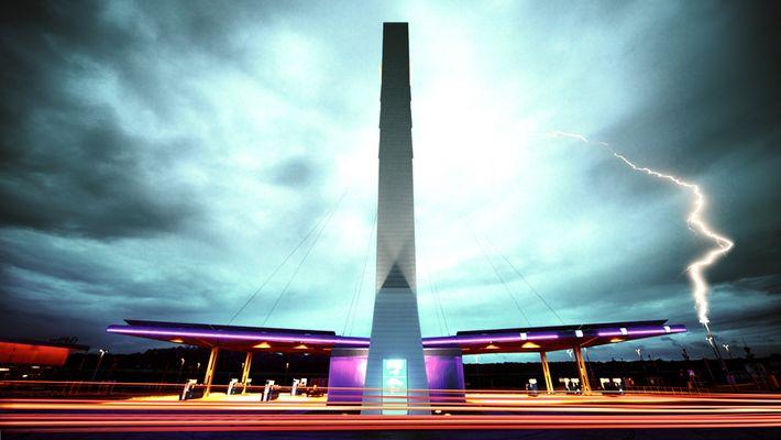 striking architecture