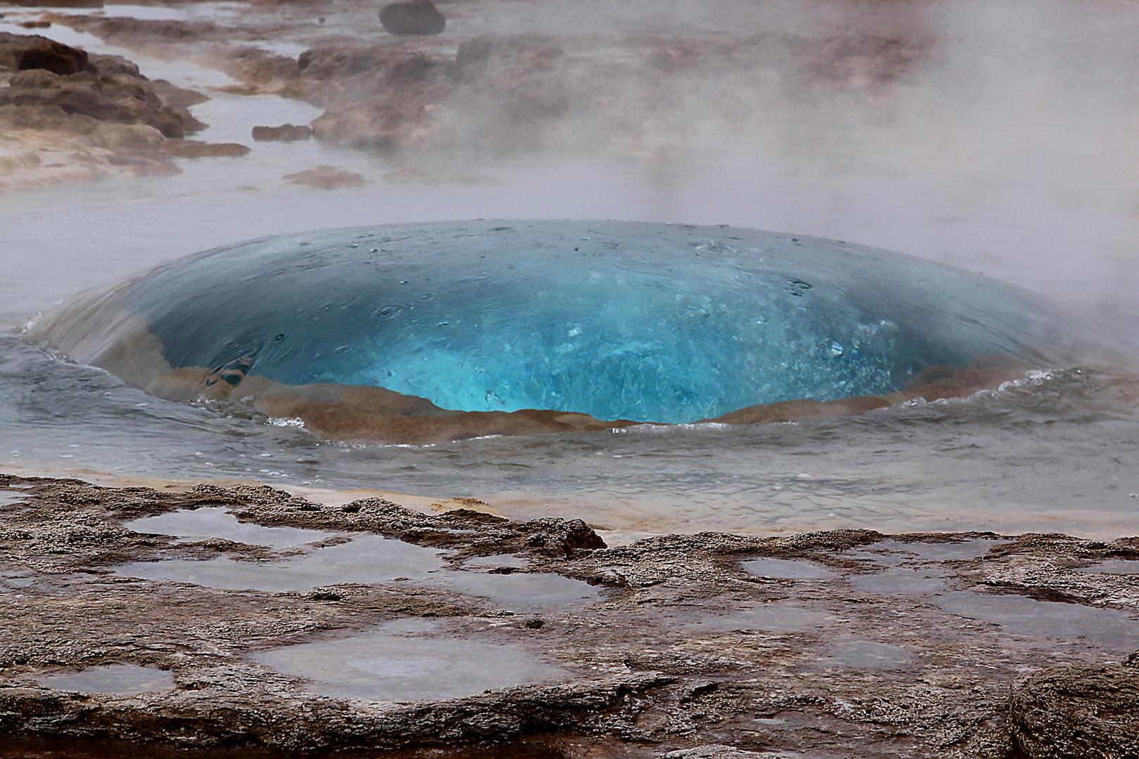 Strokkur Geysir Island 1