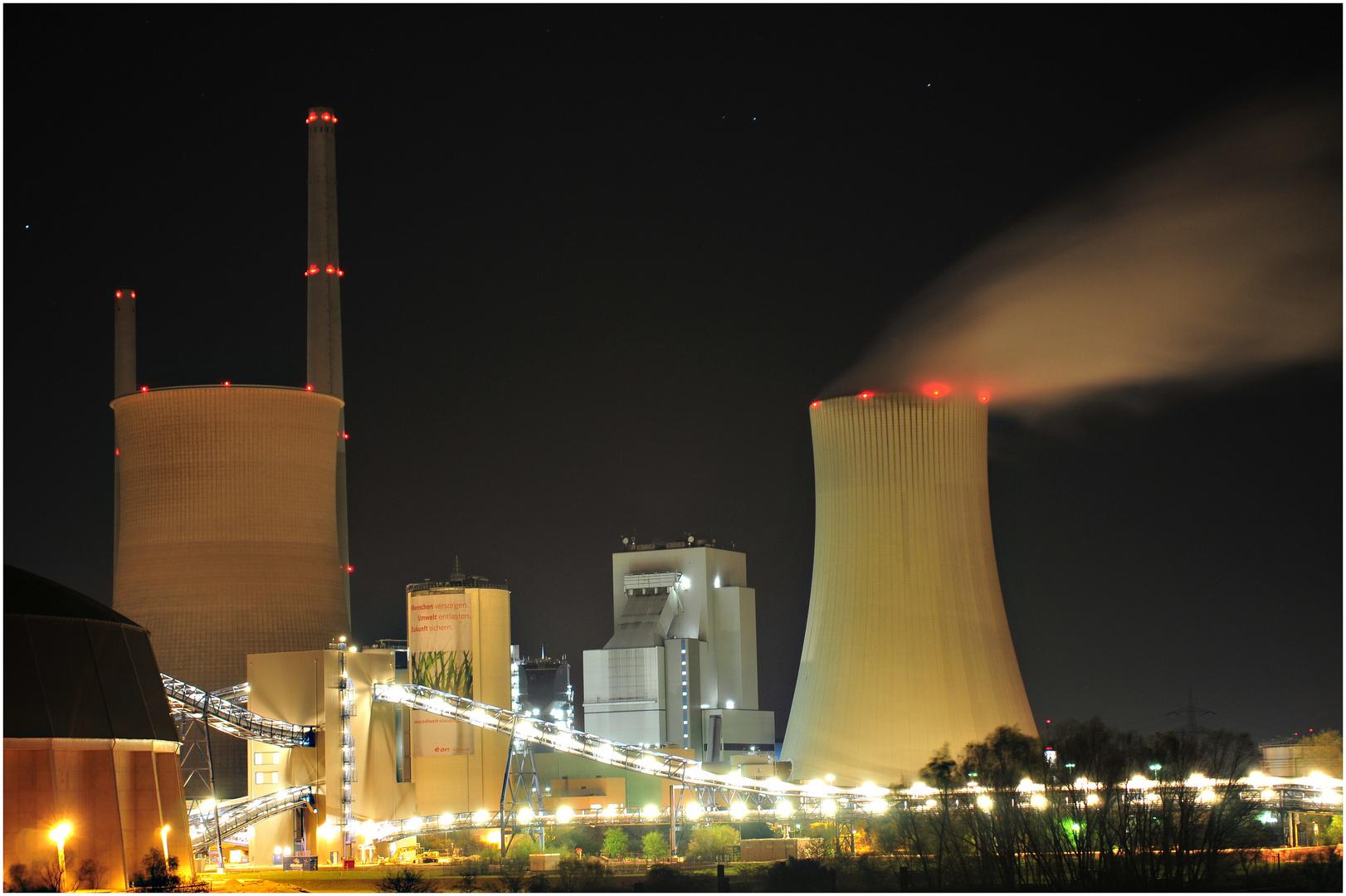 Strom bei Nacht