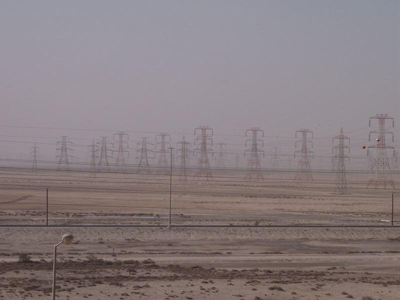 Strom in der Wüste