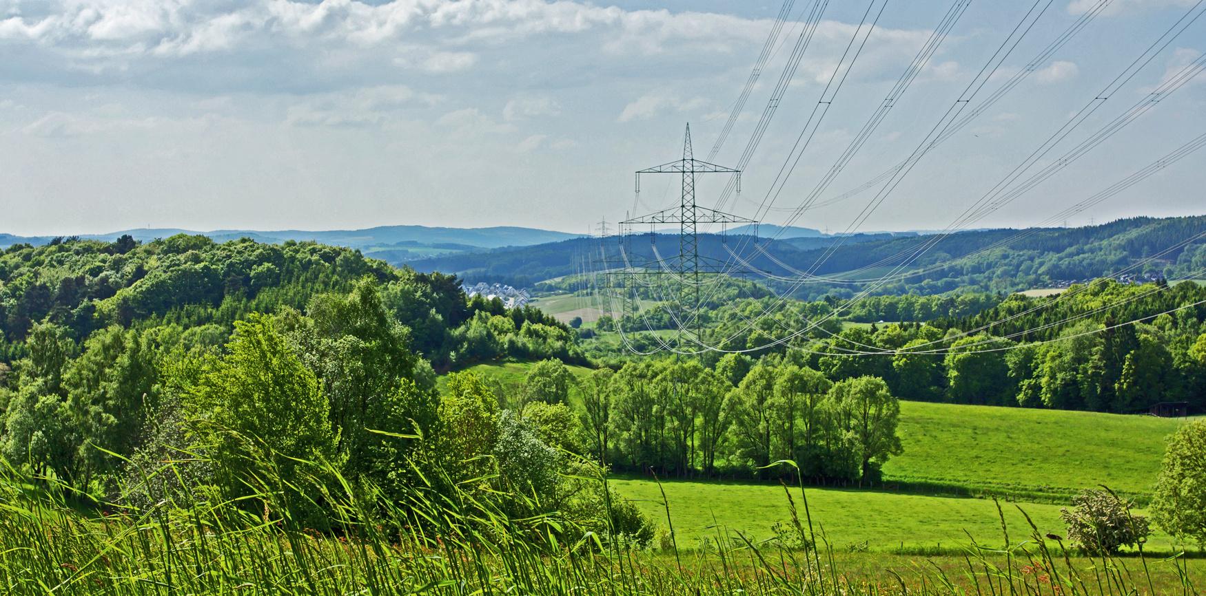 Strom Richtung Rhein