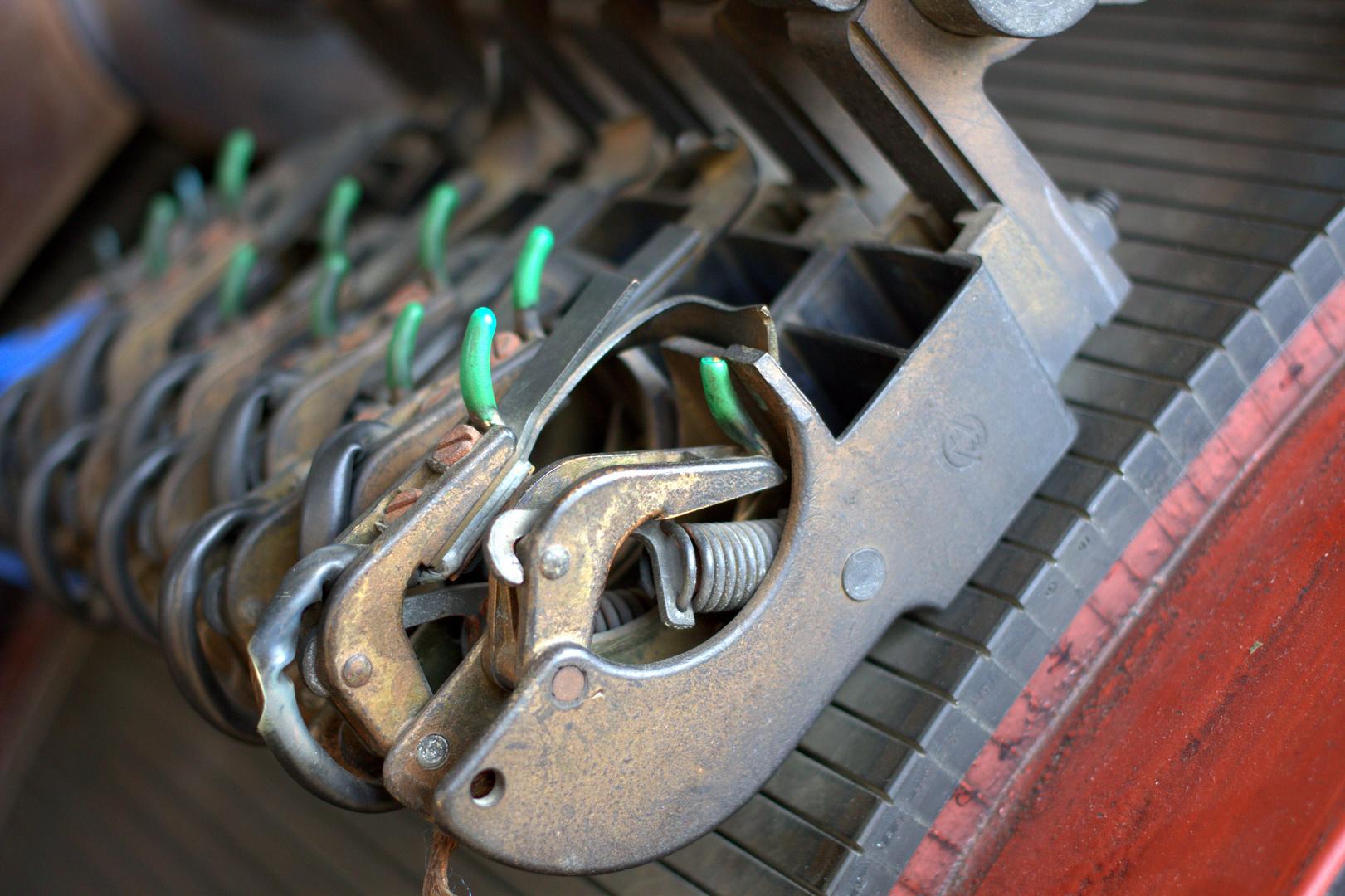 Stromabnehmer vom Stromgenerator auf Zollverein
