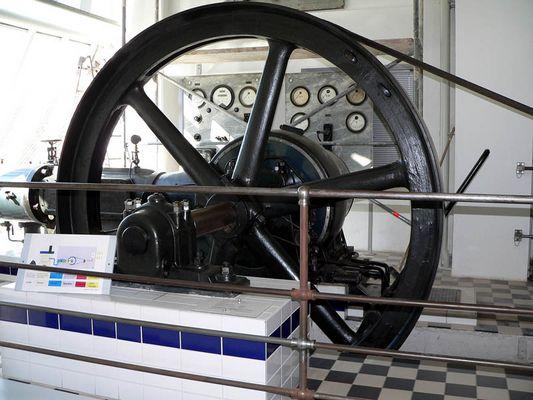 stromerzeugung mit dampfmaschine