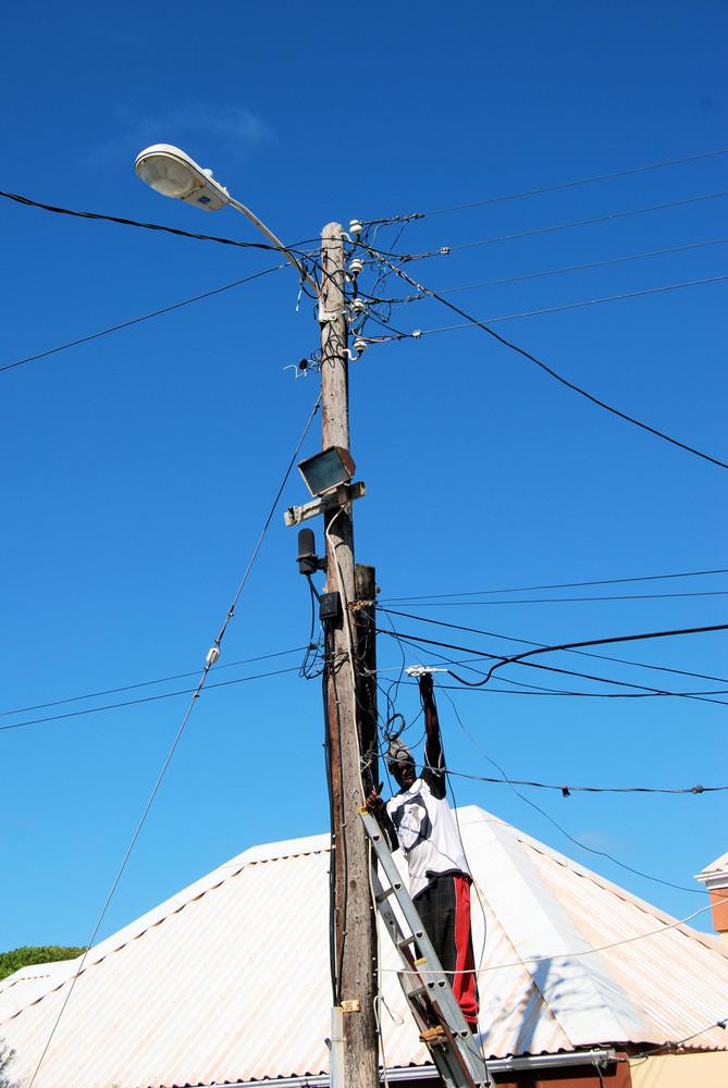 Stromversorgungstherapie in Oranjestad St. Eustatius