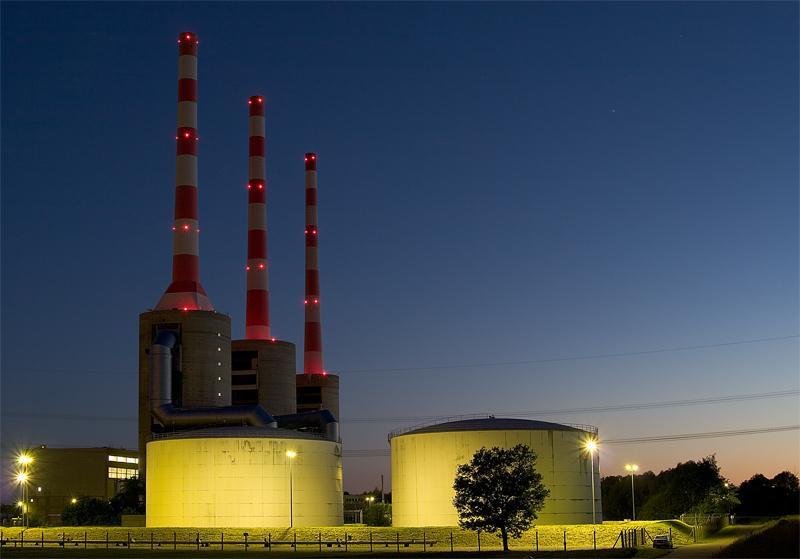 Stromwerk in Vohburg