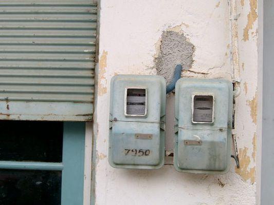 Stromzähler auf Kreta
